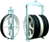 1040mm large diameter stringing pulley block stringing equipments for pulling out conductors