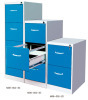 3-Drawers steel vertical file cabinet