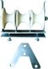 Triple bundle stringing block and pull board
