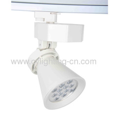 12W Aluminum Die-cast 230mm×170mm×136mm LED Track Light For Indoor Using