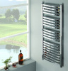 Chrome Curved Heated Towel Rails