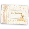 Fashionable baby shower invitation cards