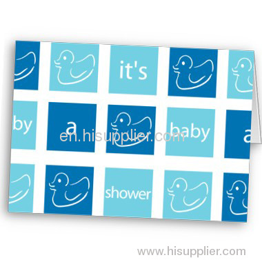 Lovely baby shower cards
