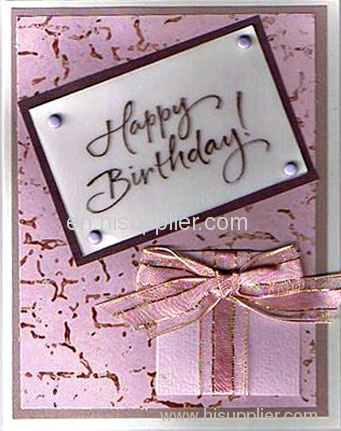 ribbon birthday cards