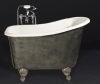Antique Clawfoot cast iron Bathtub