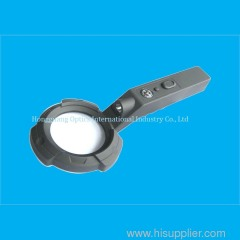Mul tipurpose type magnifier with led