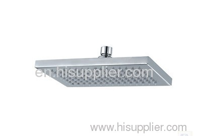 square overhead shower