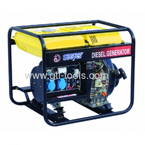 2-poles Single-phase Portable Diesel Generator