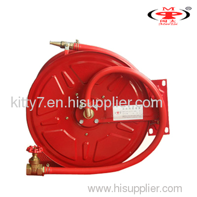 swing arm fire hose reel or water hose reel
