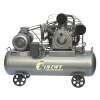 Double Stage Cooled Movable Air Compressor