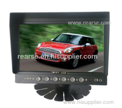 7 inch Dashboard LCD Monitor for 12~24V DC Supply