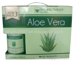 Aloe shampoo-conditiner-hair treatment