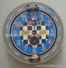 racing car clock