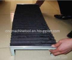 flexible accordion covers for cnc machine tool accessories