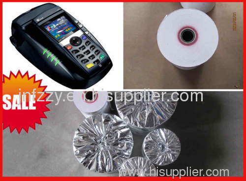 various sizes of thermal POS paper roll