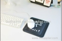 BUTTON MOUSE PAD
