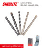 Masonry-Working SDS plus shank Hammer Drill Bits, Concrete Granite Drill Bits