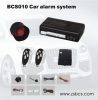 BCS-010 car alarm system with remote engine start