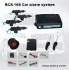BCS-168 car alarm system with external central door system
