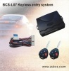 BCS-L07 keyless entry system with CE certification
