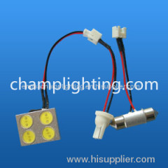 hight power 4W auto led dome lamp