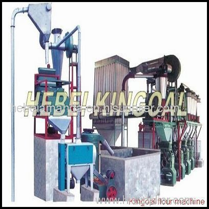 professional produce 35ton wheat flour milling machine