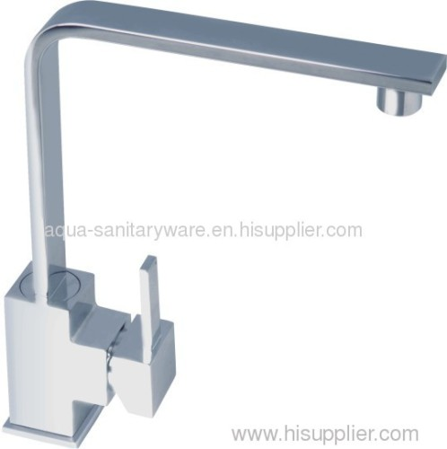 Square Kitchen Mixer Taps 35mm cartridge