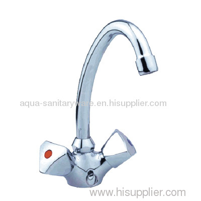 Double Handle Basin Mixer Taps