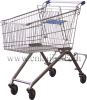 Grocery shopping cart 150L