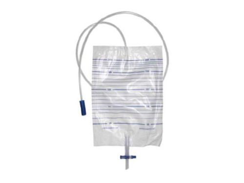Cross valve Urine Bags