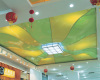 lacquer stretch ceiling system