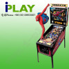 Coin operated pinball game machine (spiderman)