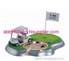 Mini Putting Green Smoking Set