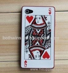 playing card celephone protective casing