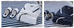Yacht Club Bathrobes, Marine Club bathrobes, Towels, Navy Blue Bathrobes, Royal Blue Towels, Embroidered, Customized
