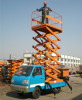 Scissor Lifts Working Truck