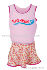 lycra floating clothes for little girl
