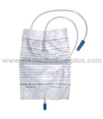 Urine Drainage Bag with Push Pull Vavle