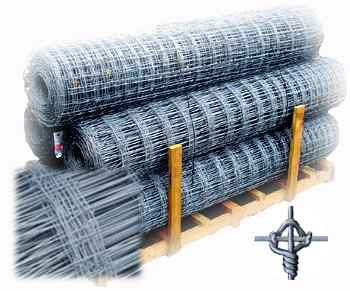 Fixed Knot Woven Wire Fence