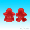 people shape silicone cake mould