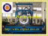 Double wall corrugated pipe machine