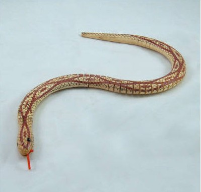 Wooden Toy Snake-DLC01-03-14