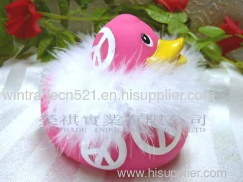 Rubber Feather Duck