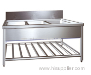 ZY75 Stainless Steel Water Sinks for Cleaning