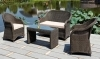 Outdoor rattan wicker sofa