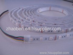 Waterproof Flexible strip with SMD3528 LED in Silicon Tube