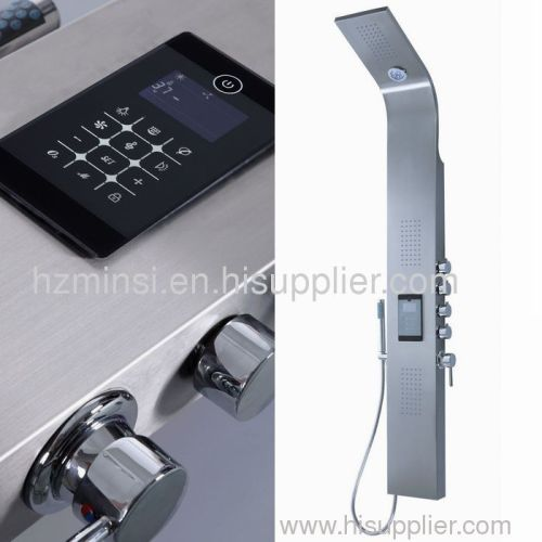 LED Shower Panel Stainless Steel