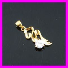 18k gold plated zircon pendat 1620840
