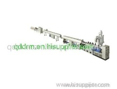PVC door profile extrusion line