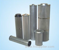 Stainless steel fuel filter cartridge for refrigeration compressor